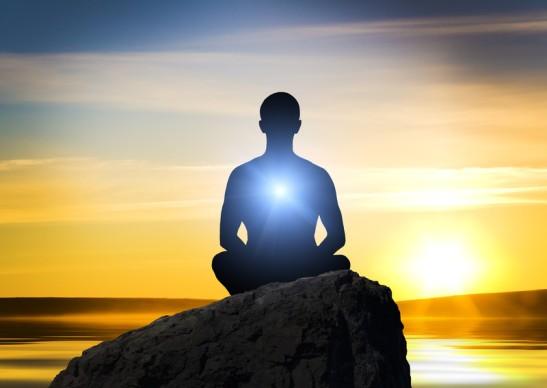 DHC meditating yogi