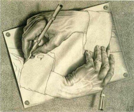 Drawing-Hands-Escher