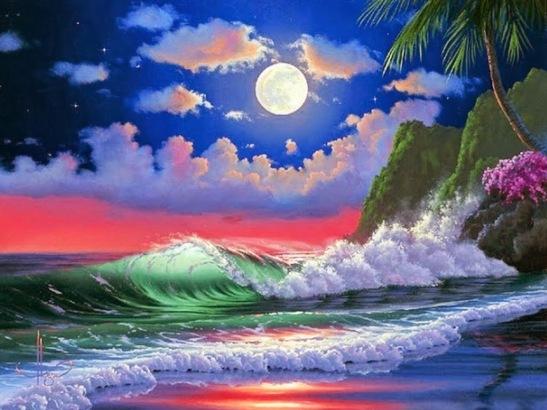 paisajes-marinos-nocturnos-pintados-al-oleo