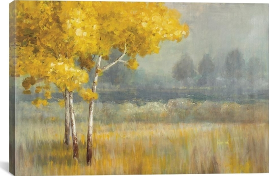 iCanvas -Yellow Landscape- by Danhui Nai Canvas Wall Art WAC3847-1PC3-26x18 - The Home Depot