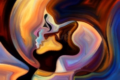 kiss-inner-paint-colors-mind-series-composition-elements-human-face-colorful-abstract-shapes-metaphorical-45497755
